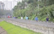 Hà Nội: Đóng cửa công viên, nhiều người dân vẫn ra đường tập thể dục