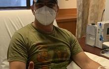 Người đàn ông sau khi chiến thắng Covid-19 đã hiến tặng huyết tương để cứu sống người khác