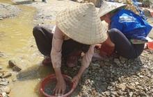 Cận cảnh công trường khai thác vàng trái phép ở 'mỏ tử thần' Minh Lương