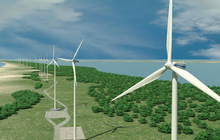 Dự án điện gió hơn 4.680 tỷ đồng ở Hà Tĩnh được chấp thuận chủ trương đầu tư