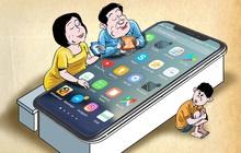 """Nhà báo Hoàng Nguyên Vũ: """"Làm ơn, về nhà vứt cái điện thoại xuống để quan tâm và dạy dỗ con cái"""""""