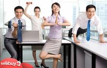 Loạt sản phẩm giúp dân văn phòng tập thể dục thể thao tại chỗ để tránh đau lưng, béo bụng