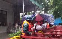 Lũ dâng cao, Hà Tĩnh phát lệnh sơ tán khẩn cấp hơn 46.000 người dân