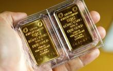"""Giá vàng trong nước quay đầu giảm, vẫn """"đắt"""" hơn giá vàng thế giới 3 triệu đồng/lượng"""