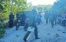 Hàng trăm cán bộ, chiến sĩ khẩn trương mở đường vào Nam Trà My