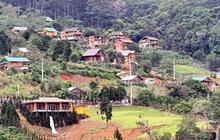 Phân lô đất nền tự phát gắn mác khu nghỉ dưỡng Lâm Đồng