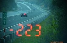 Vội đi ăn cưới, tài xế BMW phóng như bay với tốc độ 223 km/giờ trên cao tốc