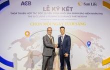 VCBS: ACB nhận được phí trả trước lên tới 8.500 tỷ đồng từ thỏa thuận bancassurance độc quyền với Sun Life