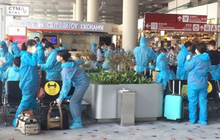 368 công dân Việt Nam từ Macau (Trung Quốc) về nước an toàn