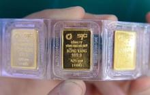Giá vàng trong nước tiếp tục rớt mạnh