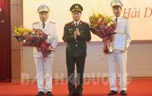 Hải Dương có 2 tân Phó Giám đốc Công an tỉnh
