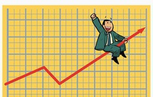 VCG bất ngờ tăng trần, VnIndex tăng 6 điểm