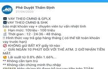 Ngân hàng cảnh báo thủ đoạn giả mạo nhân viên ngân hàng để lừa đảo qua Facebook, Zalo