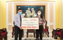 Tập đoàn Hưng Thịnh hỗ trợ 20 tỷ đồng ủng hộ hoạt động phòng, chống Covid-19