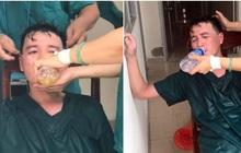 Xúc động: Nhân viên cấp cứu 115 Đà Nẵng quần áo ướt sũng, kiệt sức tới mức phải truyền nước khi căng mình chống dịch Covid-19