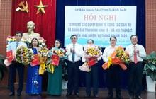 Quảng Nam điều động và bổ nhiệm nhiều Giám đốc, Phó Giám đốc Sở