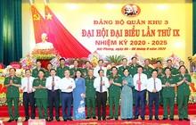 Trung tướng Nguyễn Quang Cường được bầu giữ chức Bí thư Đảng ủy Quân khu 3