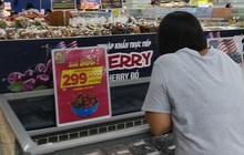 """Cherry giảm giá """"sập sàn"""", nhà nhập khẩu lo lỗ vốn"""