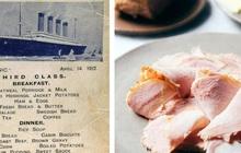 Bữa ăn cuối cùng trên chuyến tàu Titanic: Có thịt cừu sốt bạc hà, cá hồi sốt mousseline và vô số kể các món ngon khác