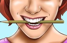 Ngậm 1 cây bút chì ngang miệng có thể khiến bạn hạnh phúc hơn, hóa ra nguyên nhân lại đơn giản đến thế