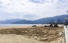 Tháo dỡ khu dịch vụ xây trái phép trên bãi biển Quy Nhơn