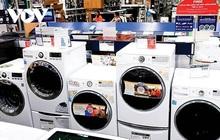 Mỹ gia hạn áp thuế với máy giặt nhập khẩu