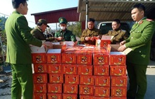 Tóm gọn 2 tấn hồng sấy dẻo từ Trung Quốc, định trà trộn lẫn lộn hàng thật lừa khách hàng