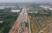 Dự án đường vành đai 3,5 sắp hoàn thành đẩy giá BĐS Hoài Đức tăng