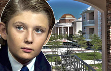 Chùm ảnh ngôi trường Barron Trump theo học sau khi rời Nhà Trắng: Chương trình dạy đỉnh cao, học phí xứng tầm con nhà tỷ phú