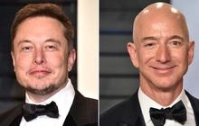 """Hai tỷ phú giàu nhất thế giới tranh cãi về """"bất động sản"""" vũ trụ"""