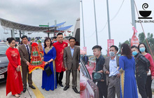 Câu chuyện nhà trai quay về vì không được vào Quảng Ninh đón dâu: 2 gia đình đã gặp gỡ, trao lễ ngay tại... trạm BOT