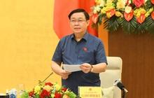 Chủ tịch Quốc hội chủ trì buổi làm việc về chính sách tài khóa và tiền tệ