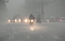 Không khí lạnh tăng cường, miền Trung mưa lớn