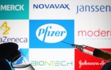 Nghiên cứu mới về vaccine Pfizer, Moderna và Johnson & Johnson