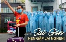Sài Gòn với một cuộc sống bình thường mới, nhưng cảm xúc của những tình nguyện viên ngành Y khi trở về nhà vẫn thật sự thương và nhớ