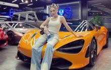 Hot girl 9X bán quần áo tại TP. HCM chốt McLaren 720S Spider triệu đô chỉ sau 30 phút, ghép cặp với Mercedes-AMG G 63 độ Hermes