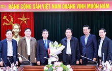 Trao quyết định bổ nhiệm của Ban Nội chính Trung ương về công tác cán bộ