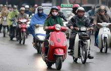 Gió mùa Đông Bắc tràn xuống, Hà Nội mưa rét