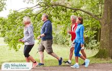 Người sau 50 tuổi duy trì đi bộ, vận động đều đặn mỗi ngày sẽ hưởng đủ lợi ích: Giảm đau xương khớp, bảo vệ tim và đặc biệt tăng cường sức đề kháng