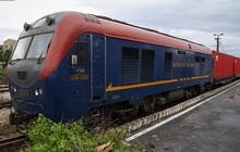 Cận cảnh đoàn tàu đường sắt chở container chạy thẳng từ Việt Nam đi châu Âu