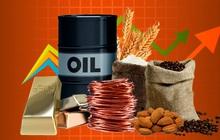 Thị trường ngày 26/10: Giá dầu chạm mức cao nhất nhiều năm, vàng, đồng, quặng sắt, đường, cà phê đồng loạt tăng