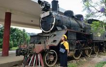 [ẢNH] Những đoàn tàu trăm tuổi 'vang bóng một thời' tại nhà ga đường sắt cao nhất Việt Nam