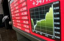 """Chứng khoán châu Á """"đỏ sàn"""" vì lo ngại về lợi suất trái phiếu"""
