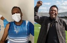 """""""Vua bóng đá"""" Pele nằm trong diện được ưu tiên, đã tiêm vaccine Covid-19"""