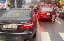 Vụ 2 ô tô Mercedes cùng biển 'chạm mặt' ở Hà Nội: Một chủ xe chưa xuất trình được giấy tờ