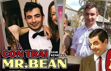 """Thông tin hiếm về con trai """"Mr. Bean"""": Đẹp trai khác hẳn bố, học cùng trường với Hoàng tử Anh và Brunei, thành tích khủng ngỡ ngàng"""