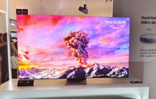 """Samsung đưa dòng TV đầu bảng Neo QLED 8K về Việt Nam: Màn hình """"vô cực"""" giống điện thoại, giá cao nhất 230 triệu đồng"""