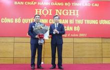 Ông Hoàng Giang giữ chức Phó Bí thư Tỉnh ủy Lào Cai