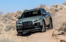 Xe bán tải đầu tiên của Hyundai ra mắt: 275 mã lực, tiện nghi như Tucson