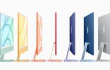 Apple công bố iMac mới: Mỏng hơn, nhiều màu sắc, chip M1, giá từ 1.299 USD